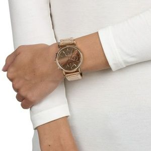 Rose Gold DKNY watch